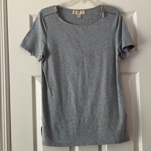 Michael Kors Zipper Sleeve Shirt